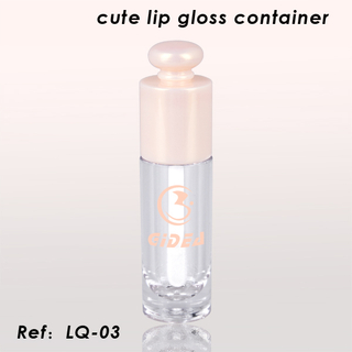 Wasserdichter Lipgloss-Container Private Label