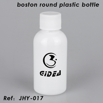 Boston Runde Plastikflasche